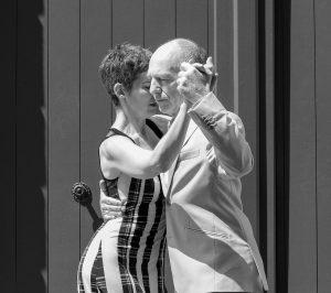 Posture tango argentin